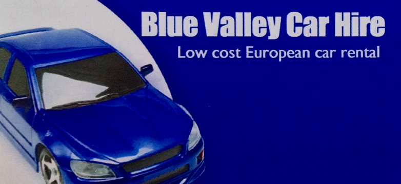 Blue Valley Car Hire logo