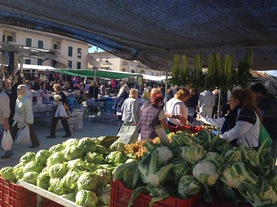 Sunday market at Puerto de Mazarron