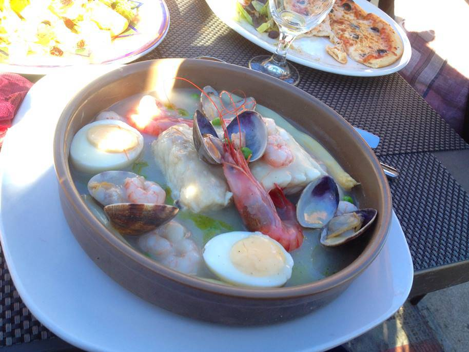 Seafood at Viggos Restaurant in Puerto de Mazarron