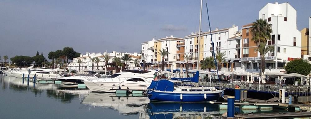 Boats at Vilamoura Marina